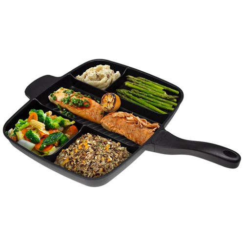 15 Non-Stick Divided Meal Skillet