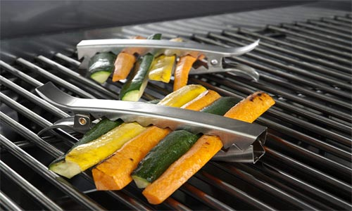 Stainless Grill Clips