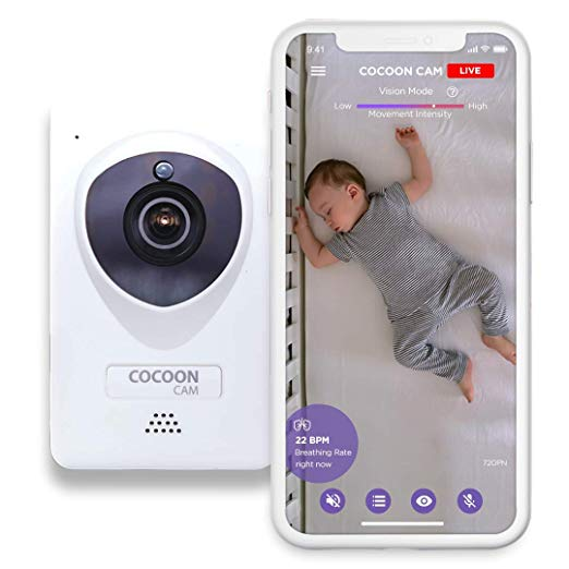 Cocoon Cam Breathing and Video Baby Monitor